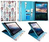 Wortmann Terra Pad 1003 Android Tablet Nettes Mädchen Universal 360 Grad Wallet Schutzhülle Folio mit Kartensteckplätzen ( 9 - 10 zoll ) von Sweet Tech