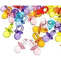 JZK Tischdeko Konfetti Dekorative Confetti Streudeko Dekoration Zubehör für Geburtstag Kinder Party Taufe Baby Shower Babyparty Hochzeit Festival Feier