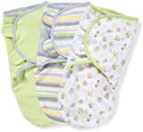 Summer Infant SwaddleMe Busy Bee (Small, Pack of 3)