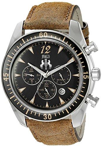 Jivago Men's 'Timeless' Quartz Stainless Steel Casual Watch (Model: JV4513)