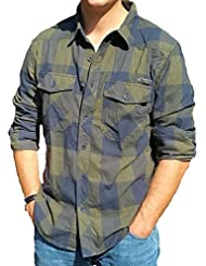 Brandit (Zannysbox Edition) - Camisa casual - con botones - Manga Larga - para hombre
