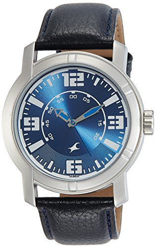 Fastrack Analog Blue Dial Men's Watch-3021SL05 image