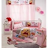 Tiempo de apagado diseño de Disney Winnie The Pooh–Juego de cama de bebé para cuna juego de cama