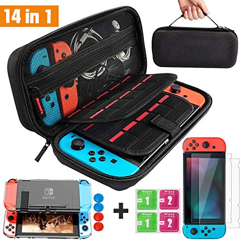 Kit de Accesorios 14 en 1 para Nintendo Switch