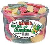 Haribo - Saure Gurken - Weingummi / Fruchtgummi - Box mit 150 Stück