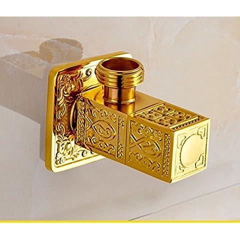 Full Art cobre antiguo válvula de ángulo de cobre/alivio Europea/válvula de cobre Triángulo/resfriado común/válvula de sellado-B