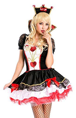 Costume regina di cuori amazon