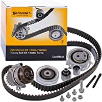 1 x Original Contitech Water Pump Timing Belt Kit Set with Tensioner Pulley and Guide Pulley CT1139WP6 - ukpricecomparsion.eu