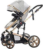 Teknum 3 in 1 Pram Stroller-Story-Grey