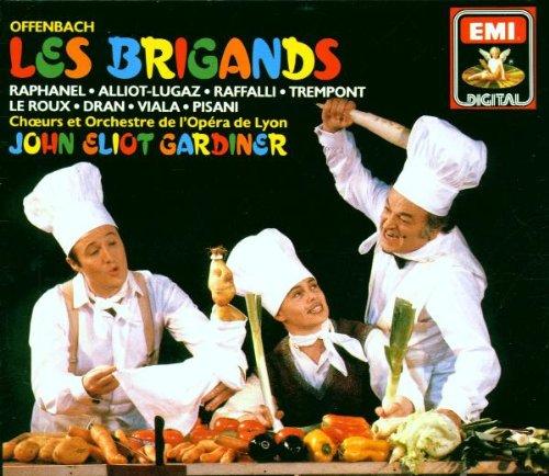 Offenbach - Les Brigands / Opéra de Lyon, Gardiner [Import anglais]