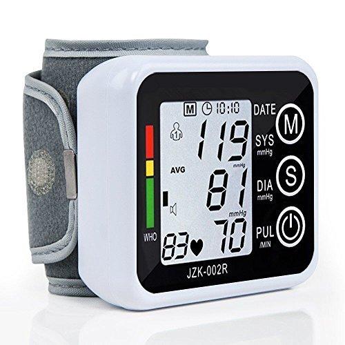 Polso Monitor di Pressione Sanguigna, ELEGIANT Digitale Sfigmomanometro LCD Sfigmomanometro