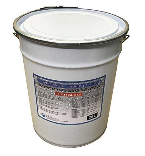 Block Paving Sealer - High Gloss Finish Block Paving Seal Sealant (20 litres)
