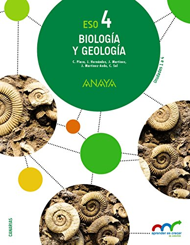 Biología y Geología 4. (Aprender es crecer en conexión) - 9788469812006