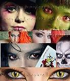 Farbige Kontaktlinsen Crazy Color Fun Contact Lenses 'Red Demon' perfekt zu Fasching, Karneval und Halloween Topqualität inkl. 60 ml Pflegemittel und Linsenbehälter Bild 2