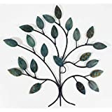 contemporary metal wall art decor sculpture cool winter tree branch