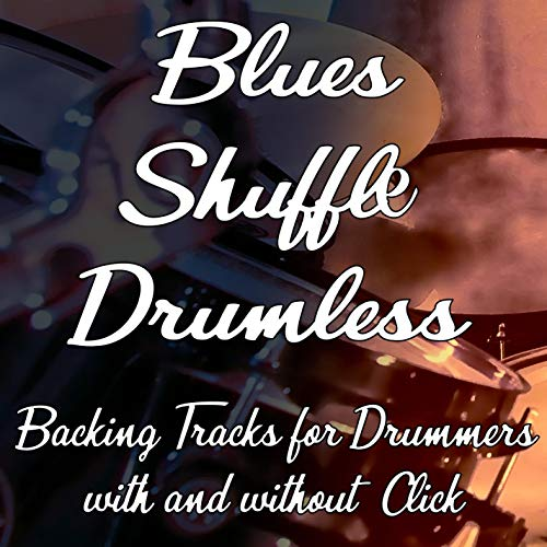 100 Bpm Straight Shuffle Blues Backing Track wihtout Drums (w Click)