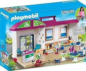 PLAYMOBIL 70146City Life mitnehm de tierklinik, Multicolor