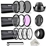 Neewer 58MM Completo Filtro Accessorio Kit per CANON EOS REBEL...