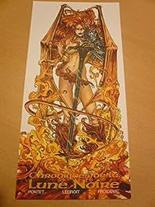 Ledroit - Chroniques De La Lune Noire Ex-Libris - 15X29 Cm Affiche / Poster