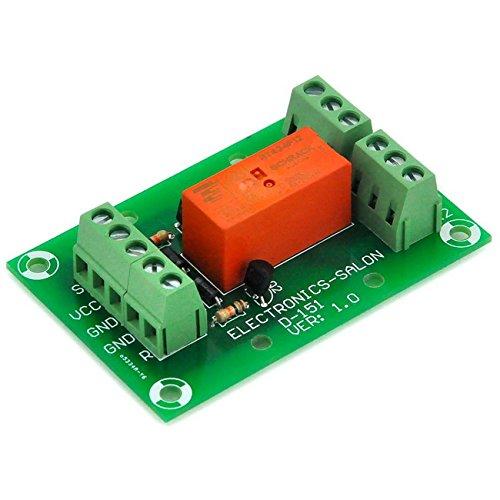 electronics-salon-bistable-reglage-power-module-relais-dpdt-8-a-dc-12-v-bobine-tyco-rt424-f12
