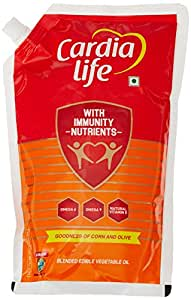 Cardia Life Blended Oil Stand-up, 1L Pouch