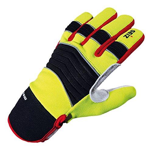 - Spaltleder-arbeits-handschuhe (SEIZ Mechanic 800185 Universeller Handschuh für Rettungskräfte, Gr. 9)