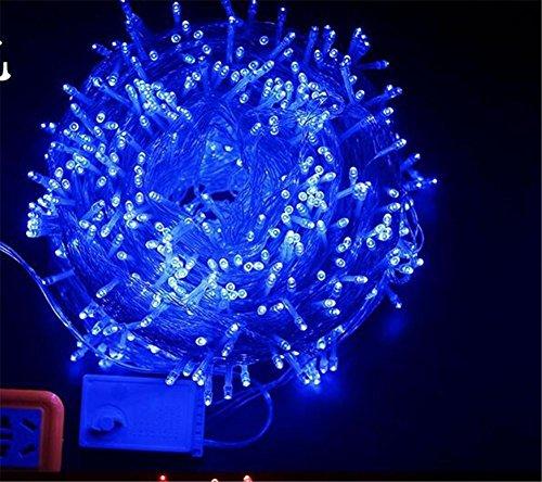 W-ONLY YOU-J Wasser Christmas net Lichte hell hintergrund 8 Modi Kinder Geschenke Outdoor Hof Garten Terrasse Parque 3 m , blue