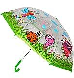 """Regenschirm - transparent - """" Biene"""