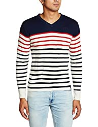 Lee Mens Synthetic Sweater (8907222304171_LESW1780_Large_Navy)