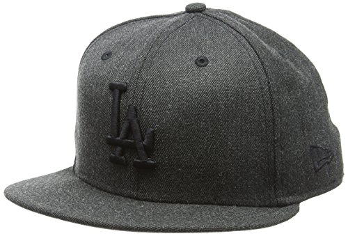 7a6fdf46a329c New Era Hommes 59FIFTY Mlb Casquette Tonal Heather Fitted Los Angeles  Dodgers Noir Black 7 38