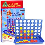 Amazindealz Connect Four Large 4040 Game Strategy Board Game 4 in a Row Game Family Fun Interactive Board Game Kids Education