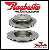 Raybestos hinten Paar Bremsscheibe (nur für 5-Loch Bremsscheibe)