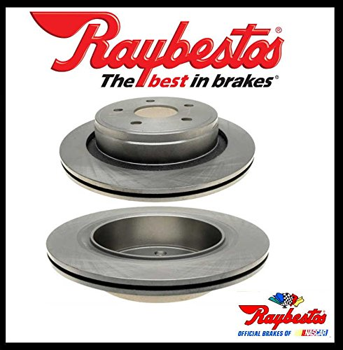 Raybestos hinten Paar Bremsscheibe (nur für 5-Loch Bremsscheibe) Test
