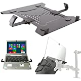 Laptop Halterung Adapterplatte schwarz an Wandhalterung Tischhalter Halterplatte VESA 100 für Notebook Netbook Tablet PC Mediaplayer Modell: IP27B