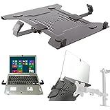 pc portable support plaque noir à Support mural table halterplatte VESA 100 pour PC Ordinateur Portable Tablette PC Media Modèle: ip27b