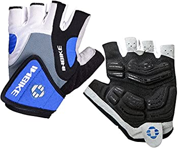 Inbike 5mm Gel Padded Half Finger Cycling Gloves Bike Bicycle Gloves For Biking(blue,m) 0