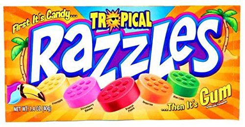 Razzles Tropical Pouch 1.4 OZ (40g)