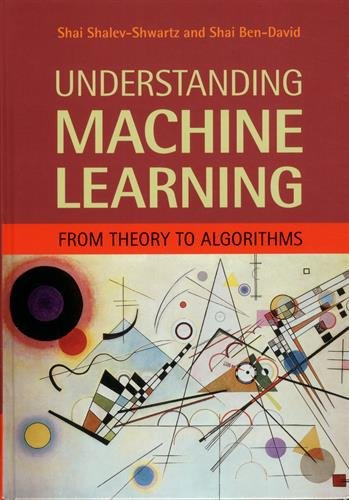 Understanding Machine Learning por Shalev-Shwartz