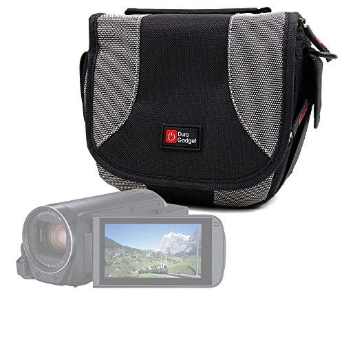 Galleria fotografica DURAGADGET Borsa Per Videocamera Canon Legria HF R806   HF R86   HF R88   Seree HDV-S38   HDV-S14   HDV-520   Pyrus C6   PY24 - Con Tracolla + Maniglia - Spazio Per Piccoli Accessori - Garanzia 100%