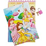 Cute New Design Princess Lock Diary For Girls / Princess Secret Diary / New Princess Snow White Cinderella Girl Secret Diary