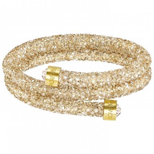 pulsera-doble-crystaldust-swarovski-5255907-mujer-dorado-cristal