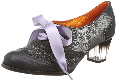 Poetic LicenceCorporate Beauty - Scarpe con Tacco donna , Nero (Nero (Black/Silver)), 39.5