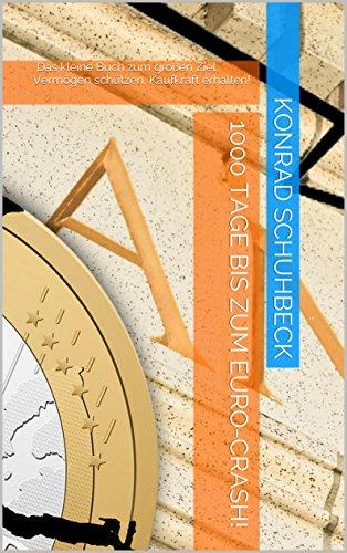 1000 Tage bis zum Euro-Crash!: Das kleine Buch zum großen Ziel: Vermögen schützen, Kaufkraft erhalten!
