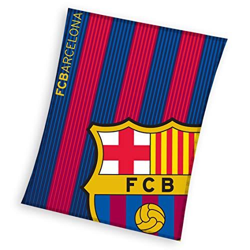 FCB FC Barcelona - Manta de Coral 130 x 160 cm
