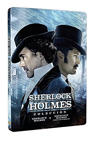 SHERLOCK HOLMES + SHERLOCK HOLMES: JUEGO DE SOMBRAS (Spanien Import, siehe Details für Sprachen) (Sherlock Holmes Films Robert Downey Jr)