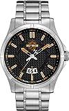 Harley Davidson Herren-Armbanduhr Analog Quarz Edelstahl 76B162