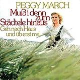 March, Peggy / Muß i denn zum Städtele hinaus / Geh nach Haus und üb erst mal / Bildhülle / ariola 13 526 AT / 13526 / Deutsche Pressung / 7 Zoll Vinyl Single Schallplatte SP /