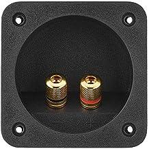 DIY Home - Caja de Altavoces estéreo para Coche con Conectores de Resorte Cuadrados y componentes