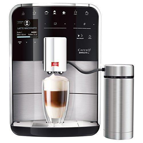 Melitta F750–201Barista TS machine à café, 1.8litre, 1450W, 15bars, Argent