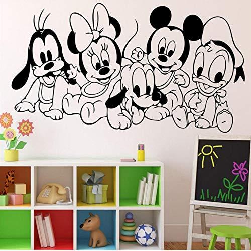 Charaktere Anime Maus Vinyl Aufkleber Wandkunst Dekor Kinder Kinderzimmer S Innenraum Wandaufkleber 47 * 85 Cm ()